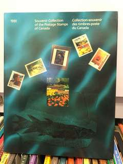 1991 Collection of stamps of Canada 加拿大郵票冊