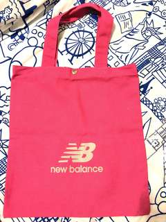 new balance canvas bag