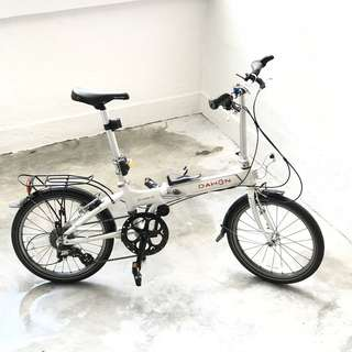 Dahon Vitesse D8 Folding Bike + $283 Upgrades