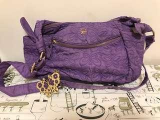 Anna Sui 紫色手袋