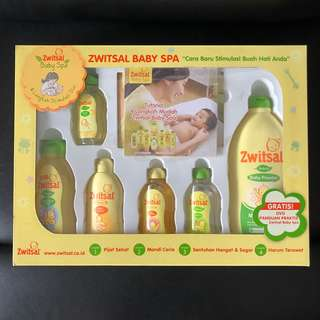 Zwitsal Baby Spa Gift Set