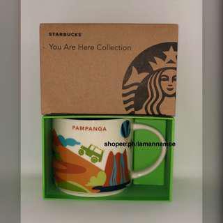 Starbucks Pampanga YAH You Are Here Mug
