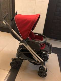 [二手便宜出清]peg perego pliko switch 雙向推車