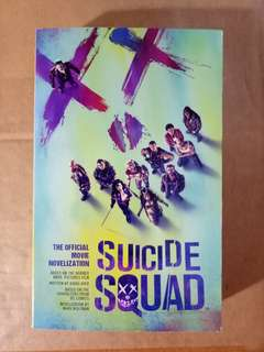 SUICIDE SQUAD the official movie novelization