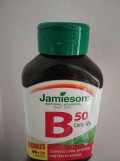 現貨jamieson B50 complex120粒
