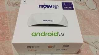 全新Now E Android TV 機頂盒 連世界盃64 場