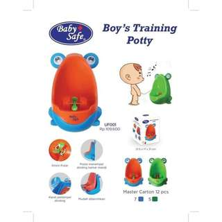 Baby Safe Boys Training Potty / Pispot Anak Laki Laki