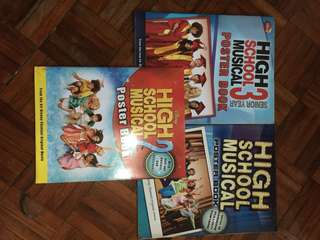 High School Musical Poster Book (set)