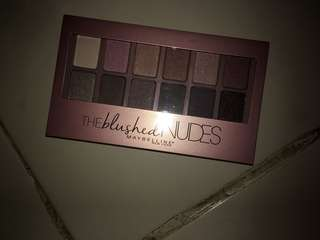 Jual maybelline THE BLUSHED NUDES palette
