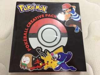 Pokemon- Pokeball Creative Pack