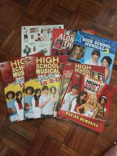 High School Musical Memorabilia (set)