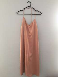 Blush Slip Dress Size L