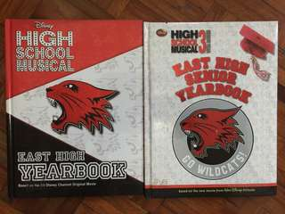 High School Musical Yearbook (set)