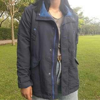 Blue Ask Enquired Jacket
