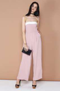 Supergurl Pink Jumpsuit