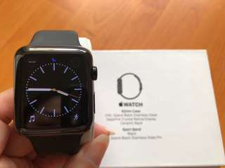 Apple Watch 1st Gen 42mm 316L Stainless Steel Series Limited Edition