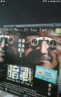 Vcd Vcd sale Buy 2 get 1 free!  Chinese   Catch me if you can  Running out of time 暗战
