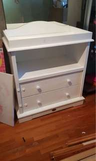 Boori Country Home Changing Table with drawers