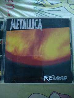 Rock/Metal CD - Rare Japan Press Metallica Reload