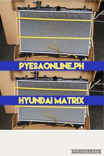 Hyundai matrix radiator assembly
