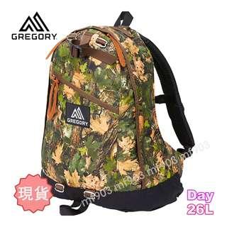 最平行貨 美國戶外品牌 Gregory Day Pack 26L Cottonwood Camo 樹紋迷彩 Classic Backpack 書包 經典旅行袋 Arcteryx Arro 22 Mystery Ranch Celine Offwhite