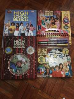 High School Musical Memorabilia 2 (set)