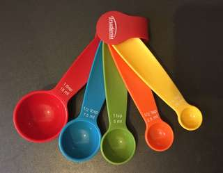 塑膠五彩測量匙
