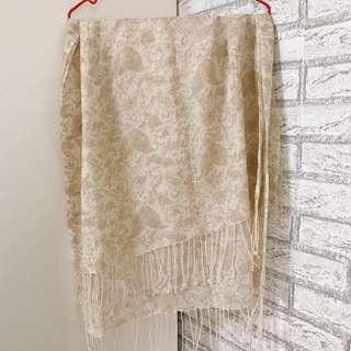 🚚 宮廷華麗風絲巾