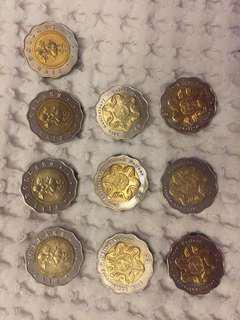 $5 coin (set of 10)