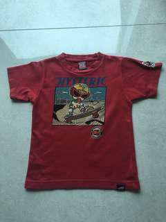 Hysteric mini kids 童裝 100% Real size 120