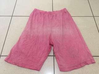 Celana Anak Karet Santai Pink