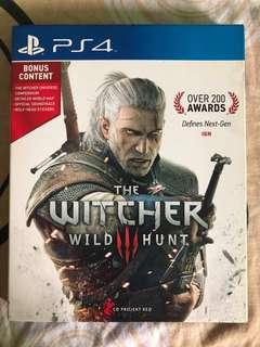 (PS4) Witcher 3: Wild Hunt
