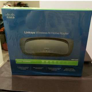 [NEW, Sealed] Cisco Linksys WRT120N Wireless-N Home Router