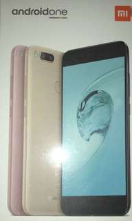 金色全新原封 Androidone Mi A1 手機 價錢可議