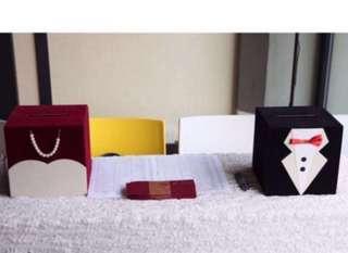 🚚 Wedding box (bride and groom)