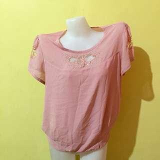 Fashion Pink Blouse