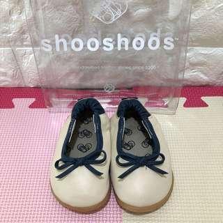 英國 shooshoos 安全無毒真皮手工學步鞋 寶寶鞋 嬰兒鞋