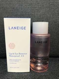 BNIB Laneige Lip & Eye Makeup Remover Waterproof