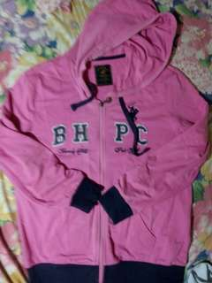 BEVERLY HILLS + POLO CLUB PINK JACKET