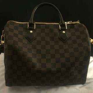 Speedy bandouliere louis vuitton original