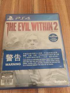 Ps4 The Evil Within 2 (邪靈入侵 2)