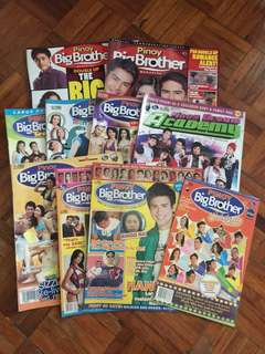 Pinoy Big Brother Magazine Set