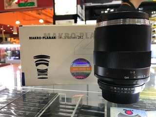 Zeiss 100mm F2 MAKRO-PLANAR LENS ZF.2 (Nikon)