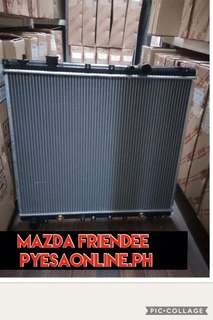 Mazda friendee radiator assembly