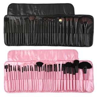 32 pieces Makeup Brush Set with Pouch