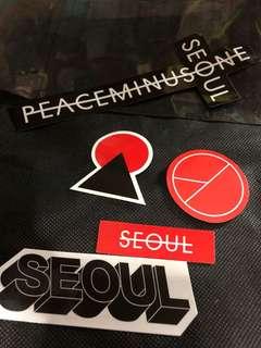 Peaceminusone 貼紙