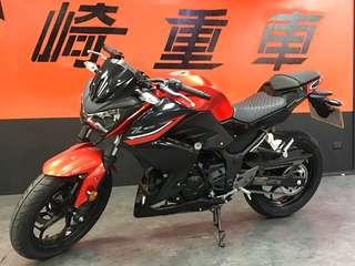 [出售]總代理優質新古車 Kawasaki Z300 ABS