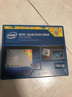 Intel SSD 530 Series 120gb/240gb