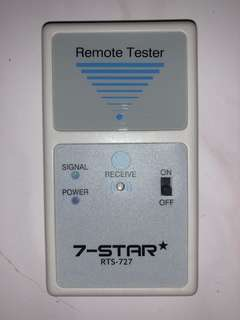 7-star rts-727 remote tester
