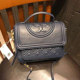 #In Stock# Tory Burch Fleming Navy